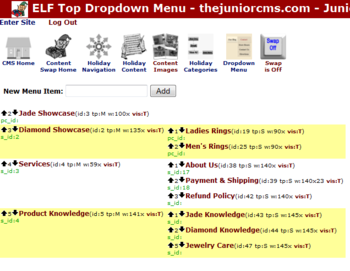 Dropdown Menu Swap